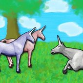 Charlie The Unicorn Thumbnail