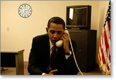Picture of Call From Obama