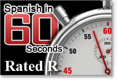 Picture of Spanish In 60 Seconds